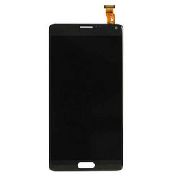 Wholesale Note Screen Digitizer - NEW For Samsung Galaxy Note 4 LCD Touch Screen & Digitizer Assembly N910 N910T N910P N910R4 N910V N910A N910E N910H DHL Free