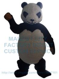 panda costume della mascotte peluche panda bear personaggio dei cartoni animati personalizzato cosply costume adulto formato carnevale 3087 da peluche personalizzata fornitori