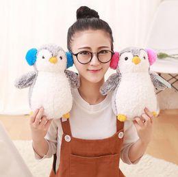 Wholesale cute penguin plush toys - Super Cute Penguin Toy 25CM Stuffed Soft Penguin Plush Toys Lovely Dolls for Girls Children Kids OOA3076