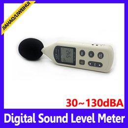 Wholesale Mini Digital Sound Level Meter - Portable digital sound level meter industrial mini sound level meter MOQ=1 free shipping