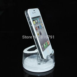 Wholesale Cell Phone Holder Alarm - Wholesale Cell Phone Retail Display Stands Mobile Exhibition Holders for Anti-theft Alarm System or shop