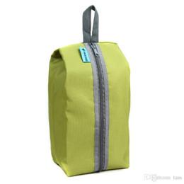 Wholesale Waterproof Shoe Storage - 4 Colors Waterproof Portable Travel Tote Toiletries Laundry Shoe Pouch Storage Bag