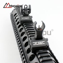 Wholesale Back Iron Sight - Troy Industries Rear Battle Back Up Iron Sight Black Folding (2-Piece Pack) Free Shipping black