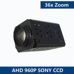 Wholesale High Speed Digital Zoom Camera - 1.3MP AHD Sony IMX322 36x Optical Zoom Camera Module Auto Focus Digital CCTV Security High Speed Dome Block Camera Zoom Module