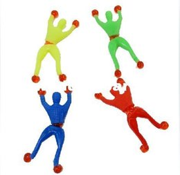Wholesale Wall Climbing Spiderman Toy - Top quality Climb a wall to Spiderman,free Somersaults,Spider-man,Spiders,interesting Toys,Kids new strange toy 1000pcs
