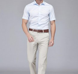 Wholesale Cool Shirts Collar Style - Men of the latest model formal occasio short sleeve shirt cool summer shirt classic single-breasted ball gown style shirt