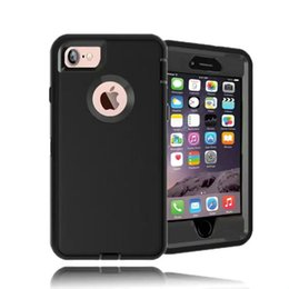 Wholesale Iphone 5s Belt - Luxury Hybrid Shockproof Case With Belt Clip for iPhone 7 Plus 5 5S SE 6 6s Plus Galaxy S8 Plus S7 edge S6 edge With Packing