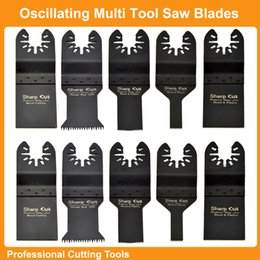 Wholesale Tool Steel Saw Blades - Free Shipping:Mixed 10pcs box wood & metal cutting Oscillating Multi Tools Saw Blades Accessories fit for Multimaster tools Plunge saw blade