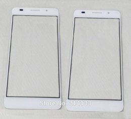 huawei сенсорное стекло Скидка Wholesale- for Huawei honor 6 Front Glass Cover Replacement for Huawei Honor 7i p8 6 plus Outer Touch Screen Glass Honor 7i Shot X Tool
