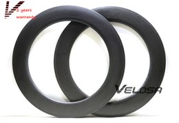Wholesale 88mm carbon rims - 2 Years warranty,Full carbon rims, 88mm clincher tubular ,700C road bike rims , wider U shape aero rim