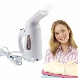 Wholesale Handheld Garment Steamer Irons - 110V 220V New Mini Steam Iron Handheld dry Cleaning Brush Clothes Household Appliance Portable Travel Garment Steamers