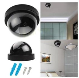 Wholesale Wholesale Dummy Security Cameras - Cheap Indoor Surveillance Dummy Detector Fake Dome Camera Security Cameras Simulated Surveillances DHL Free Shippng