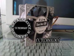 Wholesale Using Fan Brush - New 9SG1212P1G06 12038 12CM 12V 4A winds of fan violence 120*120*38mm fan brush makeup use fan sports