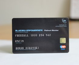 Imprimir cartões pvc on-line-Cartões de visita feitos sob encomenda do pessoal do nome do cartão de visita do PVC do PVC da cor completa ambos impressão dos lados