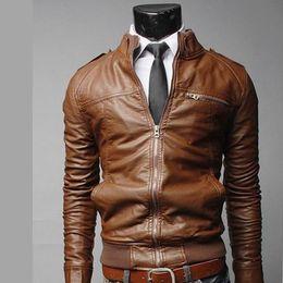 Wholesale Mens Football Jackets - Fall-Bomber veste mens Locomotive cool jacket off white PU jacket survetement football sport Leather clothing men jacket CD0341