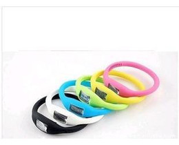 Wholesale Silicone Bag Watch - fast shipping 500 pcs lot silicone Anion watch Fashion Wrist sport Watch 1ATM silicone watch with opp bag 1202#02