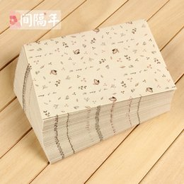 Wholesale Stationery Paper Designs Envelope - Wholesale- Vintage Leaves Pattern Paper Storage Envelope Simple Design 17.5*12.5cm Wholesale Business Kraft Envelope Stationery Gifts PL