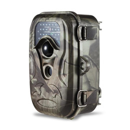"Wholesale Wild Game Cameras - DHL Free shipping new S660 hunting camera 12MP cmos 2"" TFT screen wild life trail game camera"
