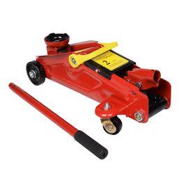 Wholesale Floor Tools - New Mini Red 2 Ton 4000 lbs Hydraulic Floor Jack Lift Tool On Wheels