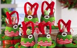 Wholesale Sale Children Cloths - Hot Sale Candy Bags Christmas Gift Bag Xmas Bag for Children Christmas Decoration