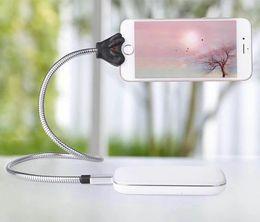 IPhone Android için Type-C multi-fonksiyonel Cep Telefonu Kickstand Evet Metal Kablo Esnek Standı Tutucu Tembel Dirseği Araba Yatak Masası Siyah Kırmızı nereden