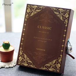 Wholesale Magic Diary - Wholesale- Hot Sale Magic Classroom Notebook Diary Handmade Travel Note Book Hard Copybook