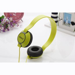 Wholesale Mixed Colorful Bag - Keeka Stereo Microphone Headset Headphone For Computer Samsung Iphone Huawei Mobile Phone Colorful With Free Buggy Bag