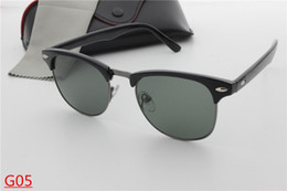 Wholesale Vintage Mix - 2017 New lurxu bans bens AAA+ style Sunglasses Vintage Brand Sun Glasses UV400 Men Women Glasses glass and case oculos