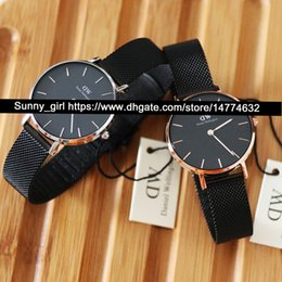 Wholesale Face Steel Straps - Best Version 32mm Women Watch Stainess Steel Dress Watch White Black Face Leather Nylon Stainless Steel Strap Watch Box is optional