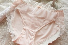 Wholesale Young Girls Sexy Panties - Fashion Lovely Young girls lace panties Janpanese original single candy briefs