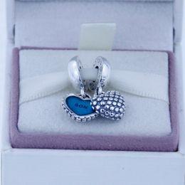 Echte pandora online-Lose perlen passt für pandora original charms armband echtes 100% 925 sterling silber perlen baumeln muttersohn charme diy charme 1 stück / lot