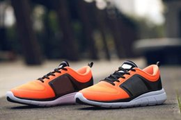 Wholesale Sg Black - [With Box] Drop Shipping 2016 Originals Neo X Lite TM SG W Selena Gomez Black orange Womens Mens Sports Running Shoes For Men Sports Shoe