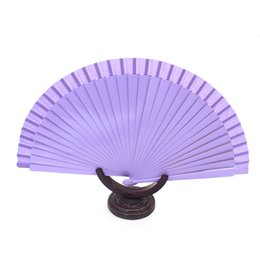 Wholesale Ivory Laced Hand Fans - Blank Spanish Fans Fabric Paper Foldng Hand Dancing Wedding Party Decor Fan Bridal Fan Performance Hand Accessories 2016