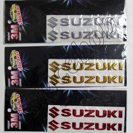 Wholesale Car Decals 3d Letters - Hot sale SUZUKI Letter logo 3D Car Stickers Emblem Badge rear Decals for sx4 swift liana jimny grand vitara
