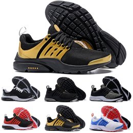 Wholesale Yellow Sand - 2017 Presto Ultra SE Woven Sand All Black Midnight Navy Wolf Grey Running Shoes Airs Cushion Outdoor Casual Walking Sneakers Size 40-45