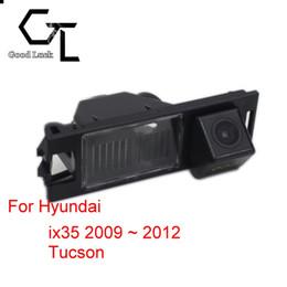 Visión nocturna hyundai online-Para Hyundai ix35 2009 ~ 2012 Asistencia para estacionamiento de la cámara de visión trasera del CCD HD de visión nocturna inalámbrica de Tucson