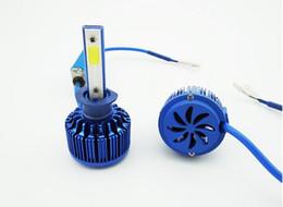 Wholesale 881 Bulb - COB LED car light LED headlamps ultra bright auto LED headlight lamps H1 H3 H4 H7 H11 9005 9006 H13 880 881