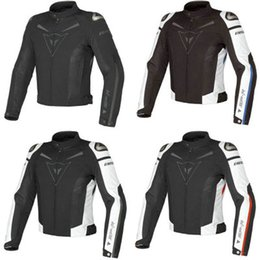 Wholesale Motorcycles Model - Free shipping New arrival Super Speed Textile Motorcycle Jacket summer models mesh fabric coat windproof White Black red blue 4 colors