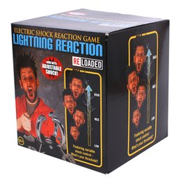 Wholesale Tricky Bars - Electric Shock Lightning Reaction Reloaded Game Fun Party Bar Tricky Toys Two Modes For 2-4 People Over 14 Years Old