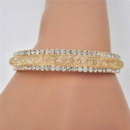 Wholesale Stardust European Beads - 2016 new Channel Setting Stardust Bracelet women love Austria 3A Cubic Zirconia Crystal Bangle lady OL elegant brand jewelry