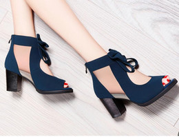 Wholesale Moolecole Shoes - Moolecole 2016 new arrival high-heeled shoes fashion vintage pumps,ladys sexy sandals for women, free shippingsize35-39