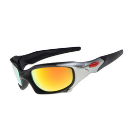 Wholesale Polarized Sport Sunglasses For Men - Brand Name Mens Sunglasses Polarized UV Sports Eyewear Cheap Fashion Sun Glasses For Adult With Box