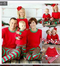Wholesale Girl S Pajamas - Retail-Christmas Pajamas Baby Girls Pajamas Long Sleeve Top Pants Set Cotton Christmas Outfits Red White Stripe Clothing Free Shipping