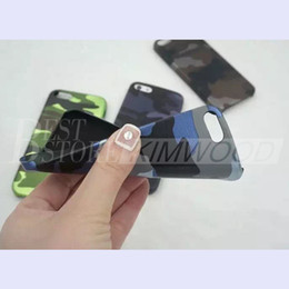 Wholesale Iphone5 Case Purple - 2016 Camouflage Case For IPhone5 6 6+ 6s 6s+. 4 Color. Ship In One Day! Free Shipping.
