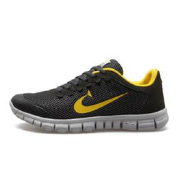 Wholesale Scarpe Sport - Wholesale-2016 Men Shoes Men's Running Shoes Sports Sneakers Trainers zapatillas deportivas running hombre chaussures hommes scarpe uomo