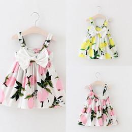 Wholesale Dresse Kids - Wholesale- Toddler Infant Kids Baby Girls Summer Dress Princess Party Wedding Tutu Dresse Drop Ship WHolesale
