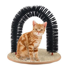 Wholesale Cats Massager - Purrfect Arch for Cats & Kitten Groomer Massager Cat Toys