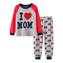 Wholesale Cheap Pajamas Girls - Pajamas Children sleep pants cheap delivery kids sets long sleeves clothes girl boy baby underwear cartoon cotton homewear