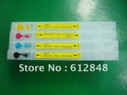 Wholesale Chip Reset Epson Printers - Refillable ink cartridge T6161-T6164 For Epson B300 B500DN B310DN B510DN printer auto reset chip ink cartridge free shipping