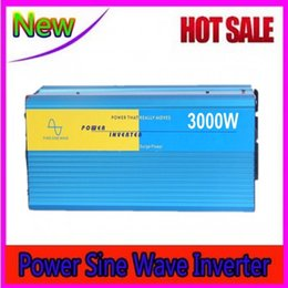 Wholesale Best Solar System - Digital dispaly 3000W pure sine wave inverter DC 12V or 24V or 48V to AC 110V 220V Best For wind or solar systems 3 years warranty